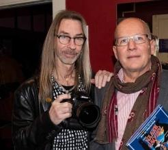 Foto Ulf Stjernbo och här med undertecknad