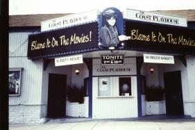 Fin gammal teater i Los Angeles