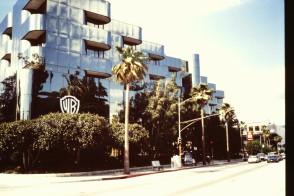 Besök på Warner Brothers skivkontor I Los Angeles