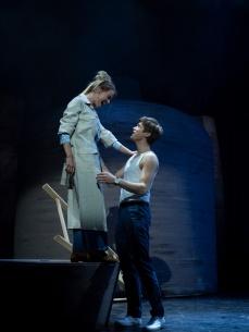 Frederikke Vedel (Molly Jensen) og Mikkel Moltke Hvilsom (Sam Wheat) Krediteres Martin Mydtskov Rønne